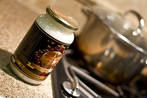 Photo of Coconut Oil in the kitchen