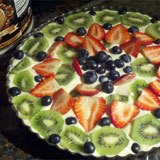 No Bake Fruit Tart Recipe Photo
