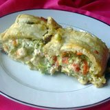 Chicken Broccoli Braid Recipe Photo