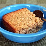 Coconut Baked Oatmeal Recipe Photo