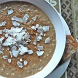 Coconut Chai Tea Oatmeal Recipe Photo