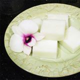 Coconut Haupia (Traditional Hawaiian Coconut Pudding) Recipe Photo