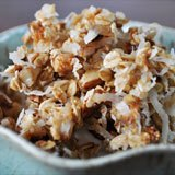 Coconut Macaroon Granola Recipe Photo