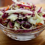 Coconut Oil Vinaigrette Coleslaw Recipe Photo
