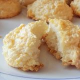 Healthy Simple Coconut Macaroons Recipe Photo