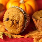 Pumpkin Chocolate Chip Muffins Recipe Photo