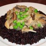 Spring Wild Mushroom & Pea Ragout Recipe Photo