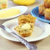 Gluten Free Coconut Flour Banana Muffins recipe photo