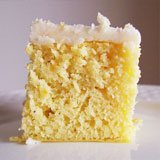 Gluten Free Coconut Flour Orange Cake with Coconut Oil Frosting Recipe Photo