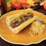Grass-fed Bison Beer Brats Recipe Photo
