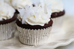 Gluten Free Coconut Fudge Cupcakes recipe photo