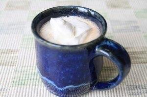Coconut Cream Hot Chocolate Recipe Photo