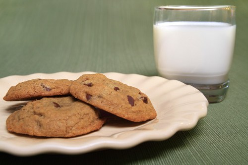Chewy Gluten Free Chocolate Chip Cookies Prepared by Sarah Shilhavy, Photo by Jeremiah Shilhavy