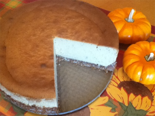 Gluten Free Coconut Cream Pumpkin Cheesecake Recipe Photo