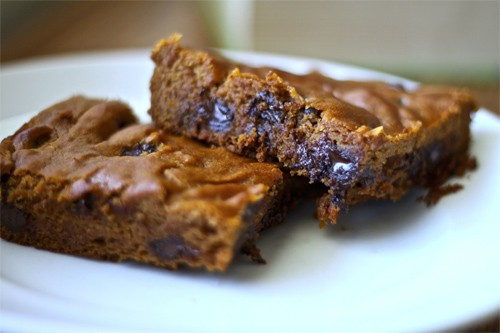 Pumpkin Chocolate Chip Bars Recipe Photo