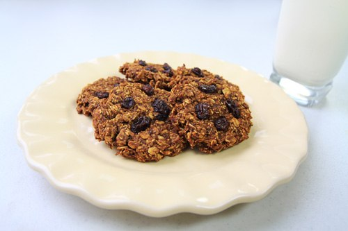 Oatmeal Pumpkin Coconut Cookies Recipe Photo