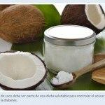 Coconut Oil Diabetes Spanish