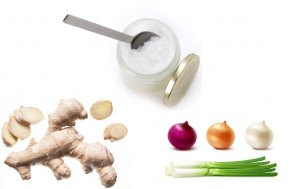 coconut-oil-ginger-onions